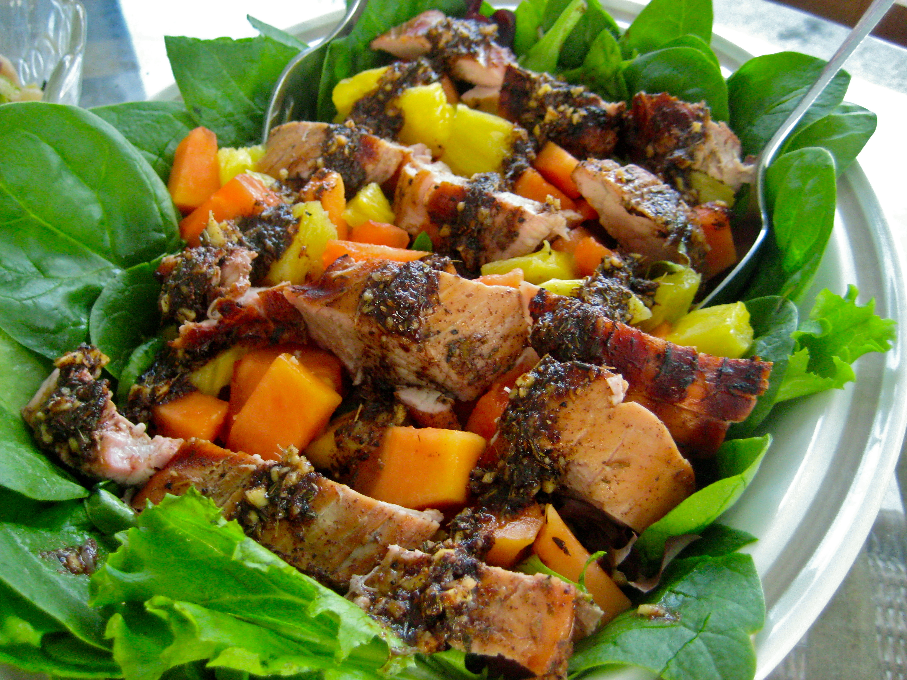Jamaican food recipe grilled jamaican pork tenderloin for About caribbean cuisine