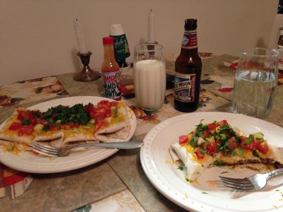 Pioneer Woman's Beef Burritos